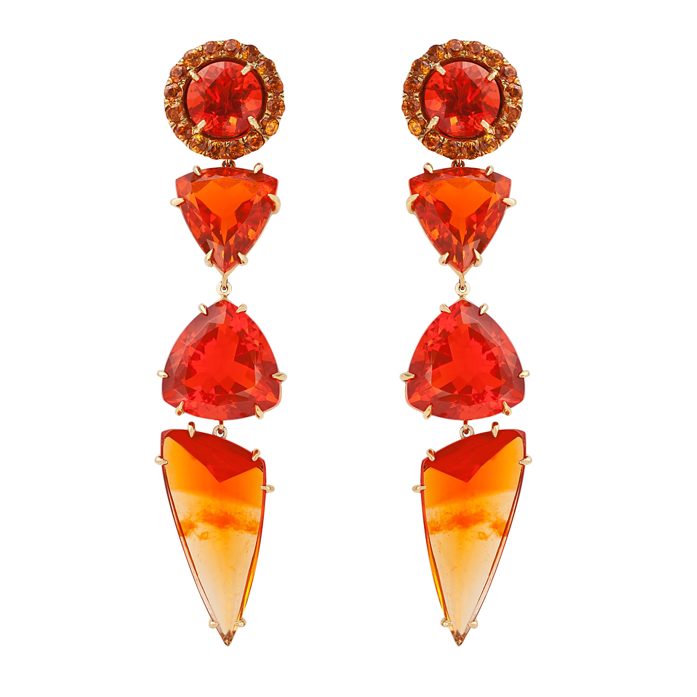 KOJIS Opal Drop Earrings
