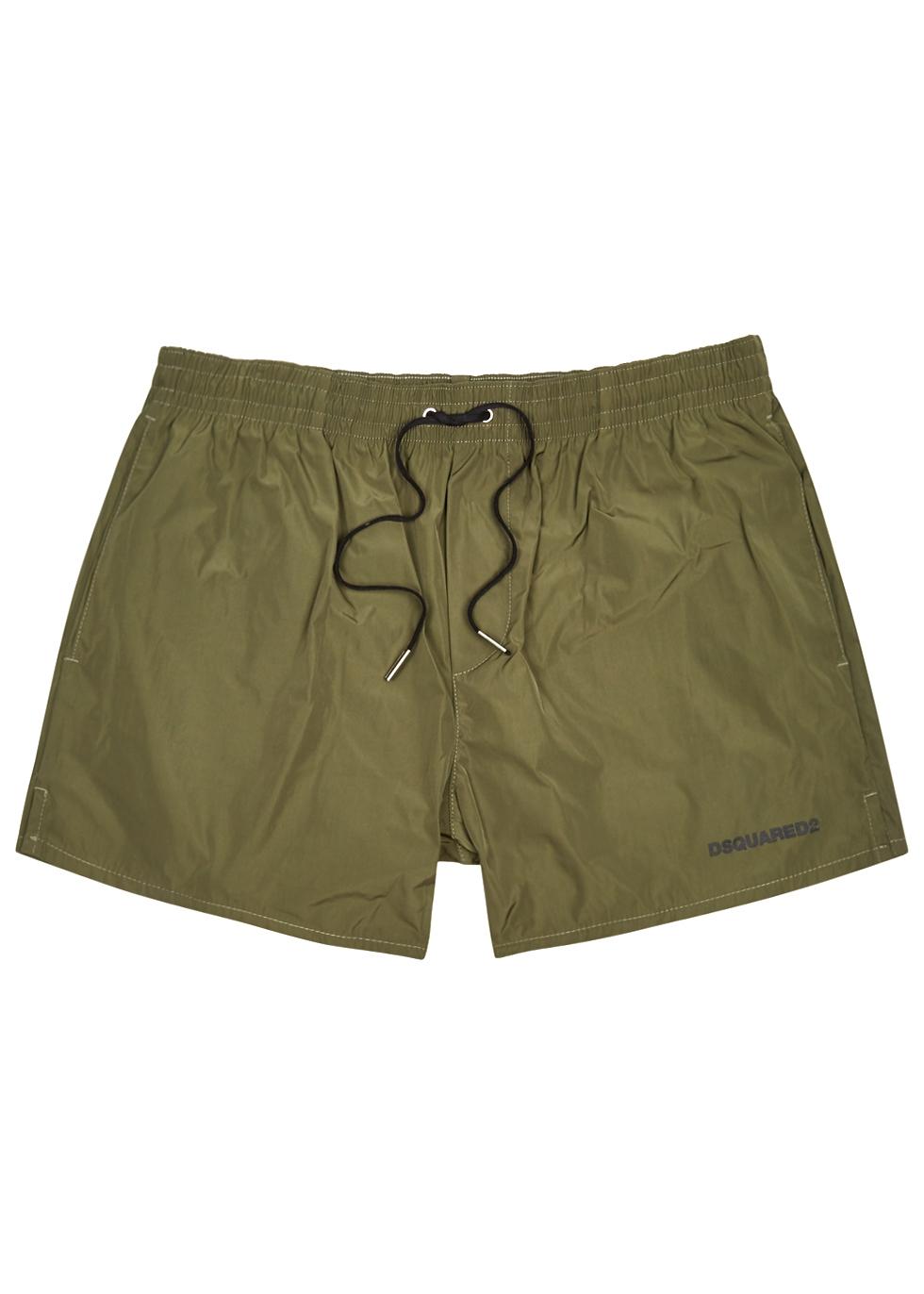Icon army green swim shorts - DSQUARED2