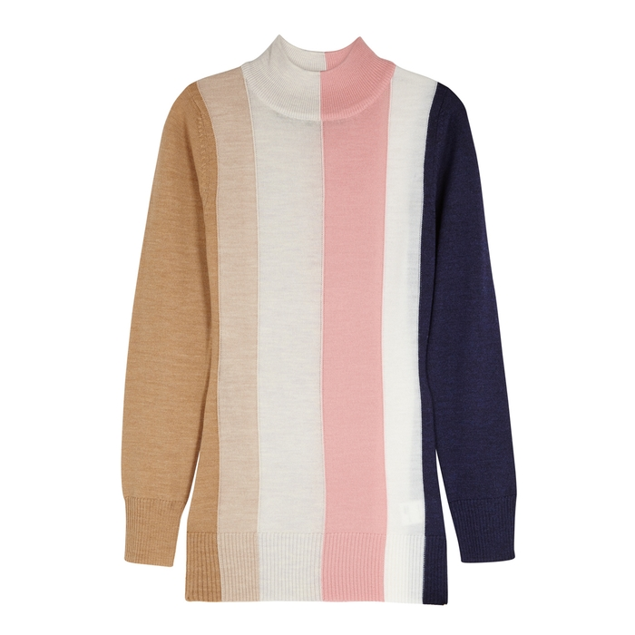 Paper London DOLLY STRIPED WOOL JUMPER