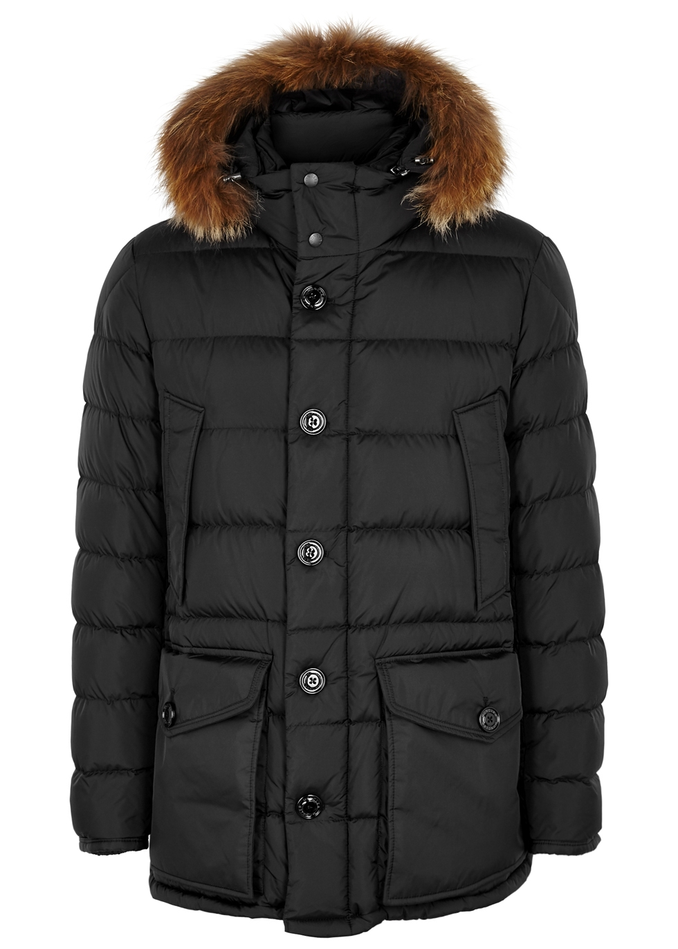 moncler shiny coat