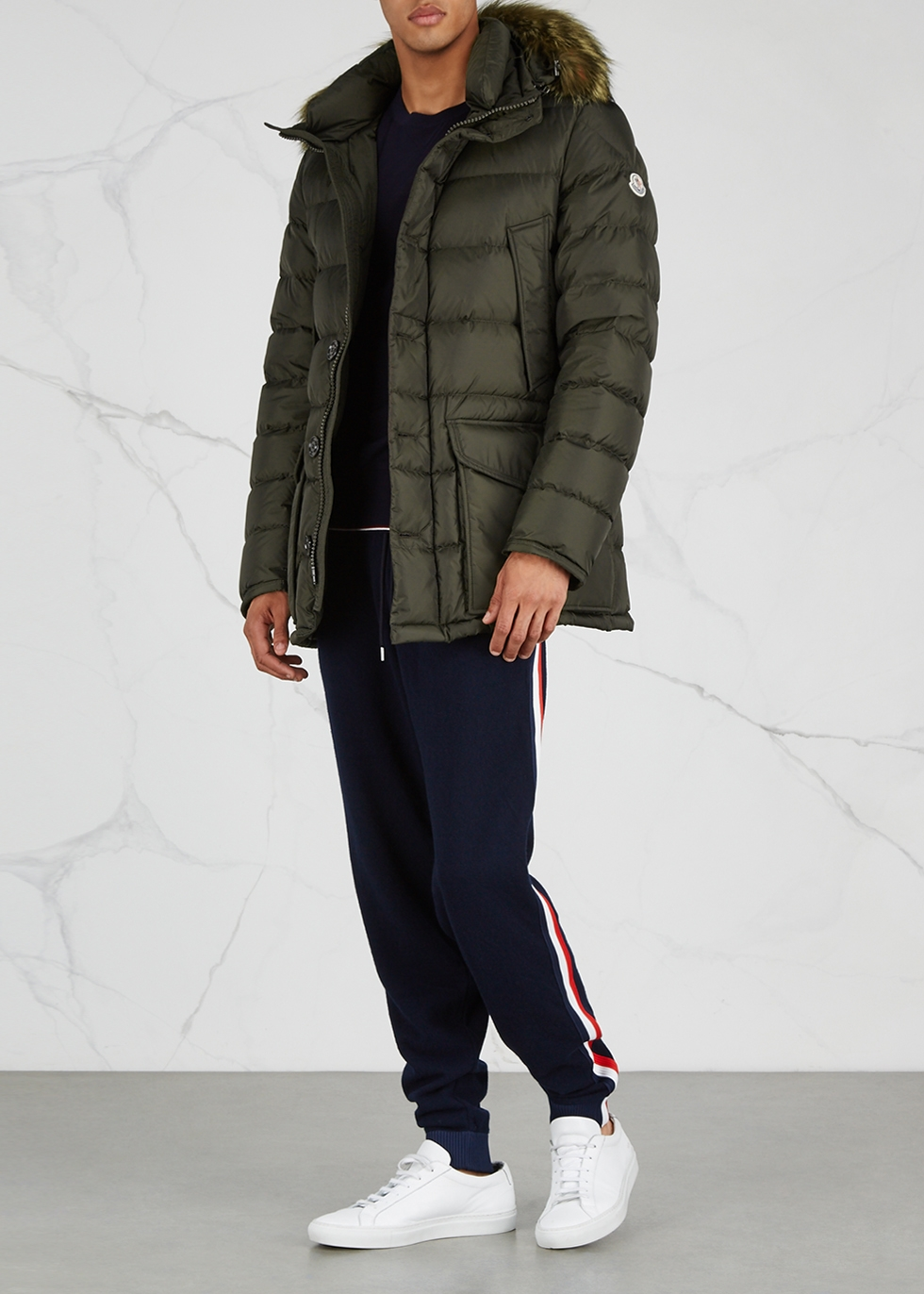 moncler cluny blue