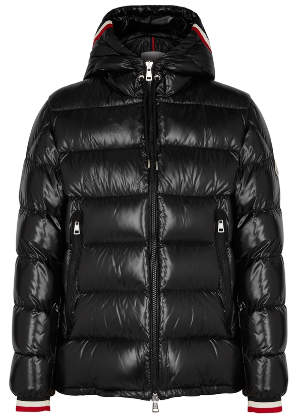 3ee2f5328fc Alberic black quilted shell coat Alberic black quilted shell coat. Moncler