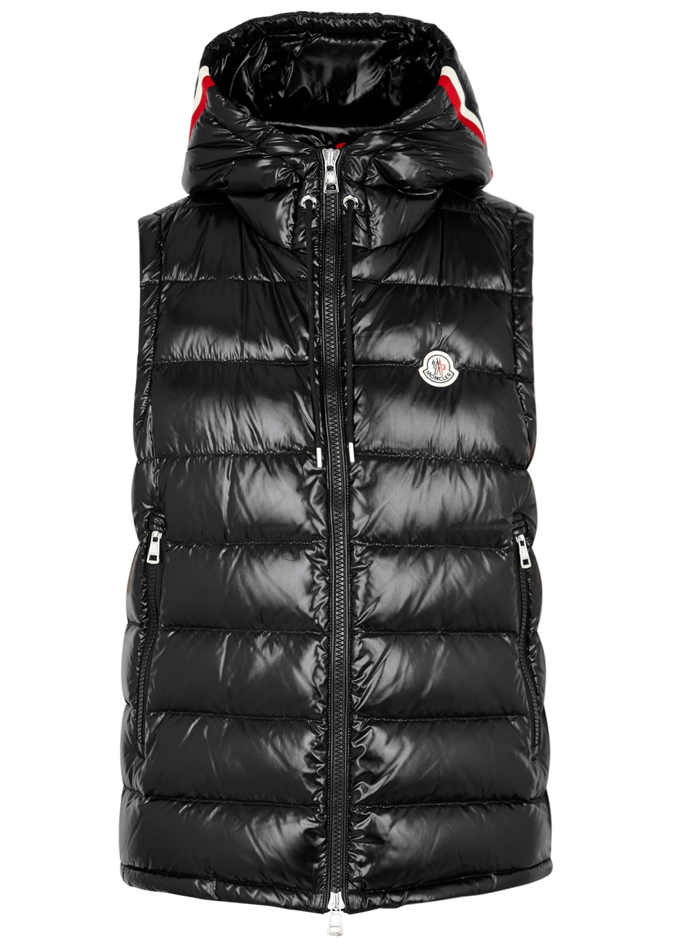 moncler navy blue coat