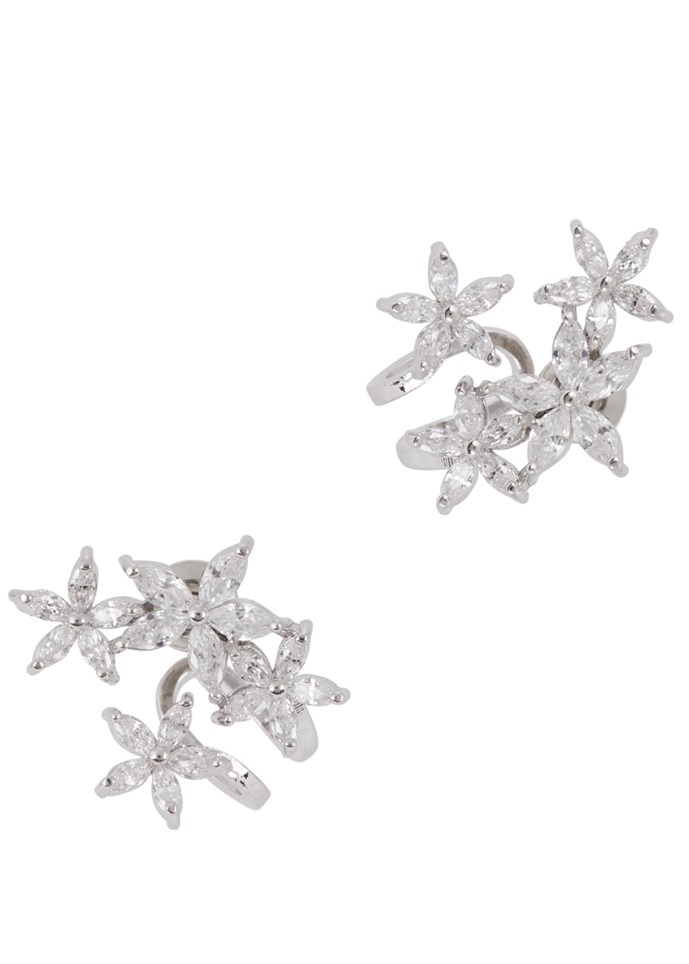 FALLON DOUBLE VINE CUFF EARRINGS