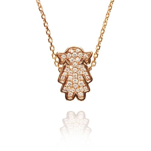 Alinka Jewellery Masha Necklace Rose Gold