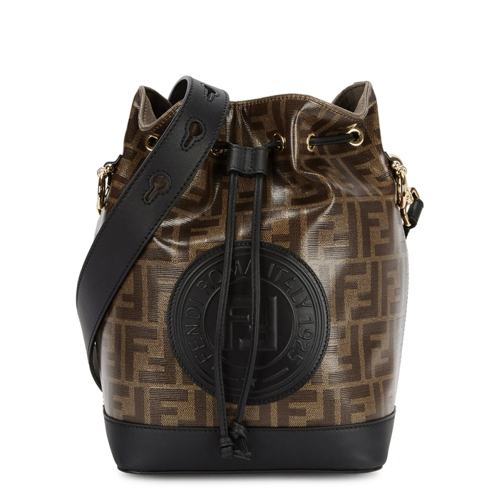 6de909322b Fendi Mon Tresor Monogrammed Bucket Bag In Multicoloured ...