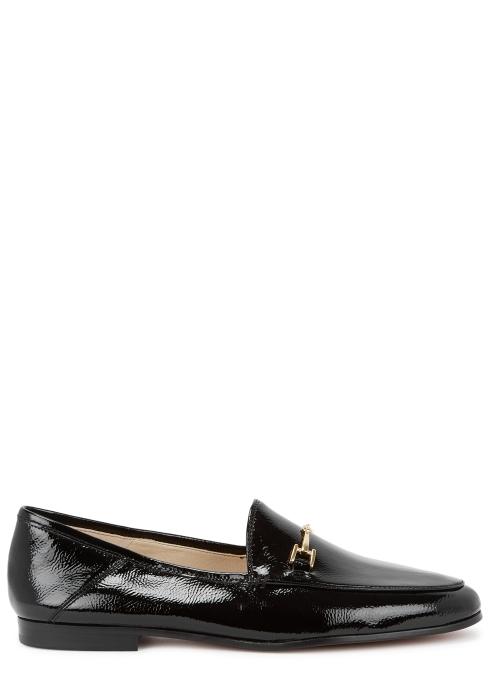 7c493a5803781 Sam Edelman Loraine black patent leather loafers - Harvey Nichols