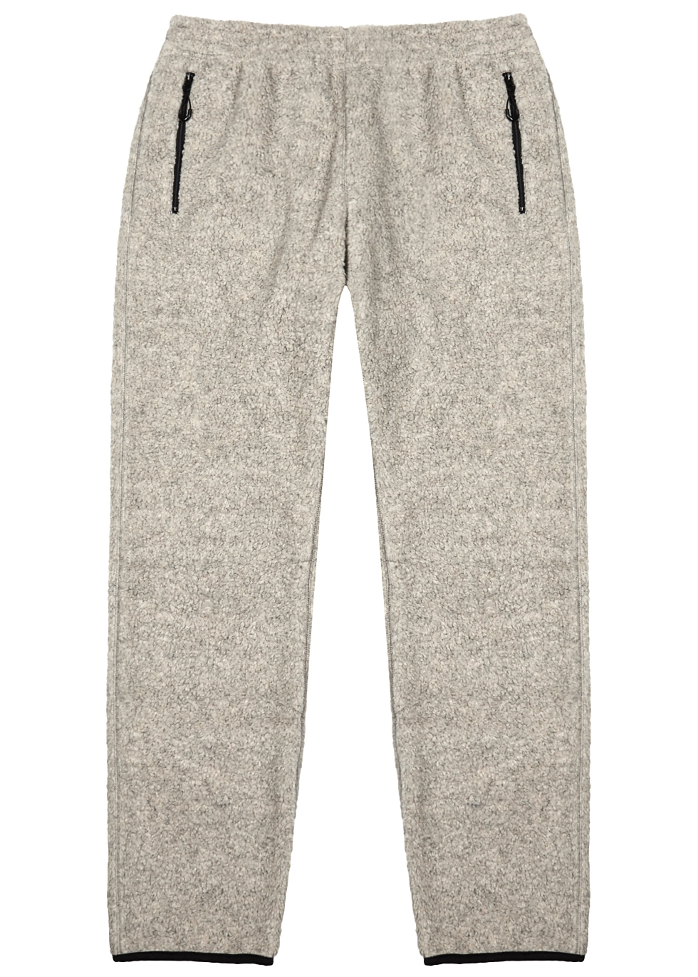 NOMA T.D Ecru Fleece Jogging Trousers in Grey