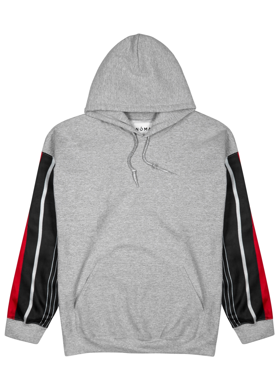 NOMA T.D Grey Hooded Cotton-Blend Sweatshirt