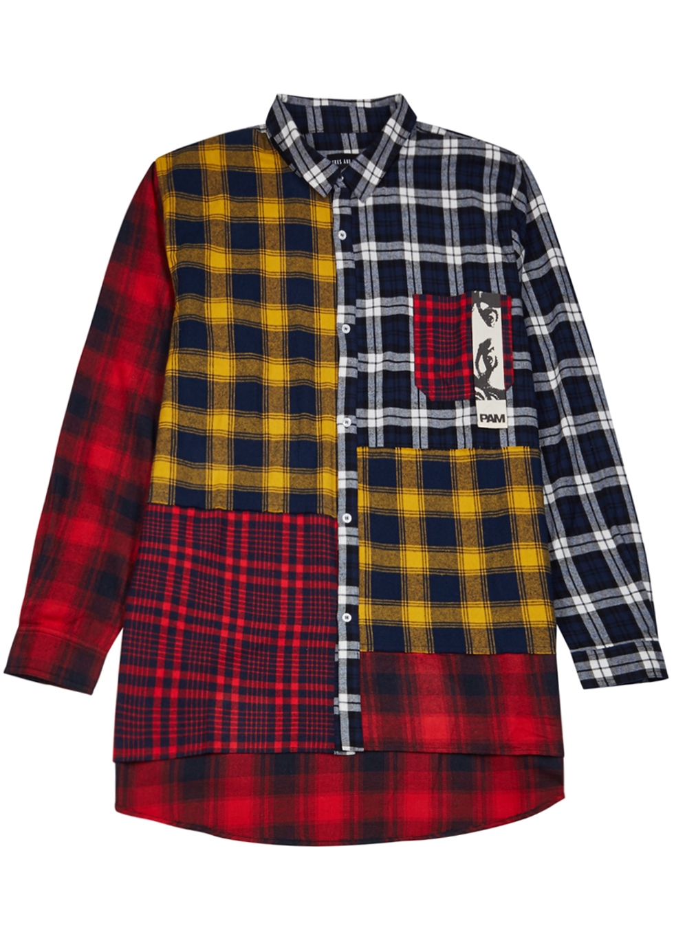 PERKS AND MINI Axelrod Checked Cotton Shirt in Multicolour