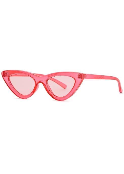 f48616d2d21 Le Specs X Adam Selman The Last Lolita cat-eye sunglasses - Harvey ...