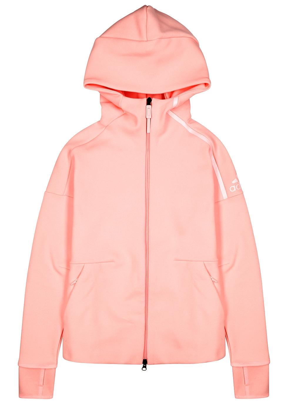 ADIDAS TRAINING Adidas Training Z.N.E. 2.0 Cotton-Blend Sweatshirt in Light Pink