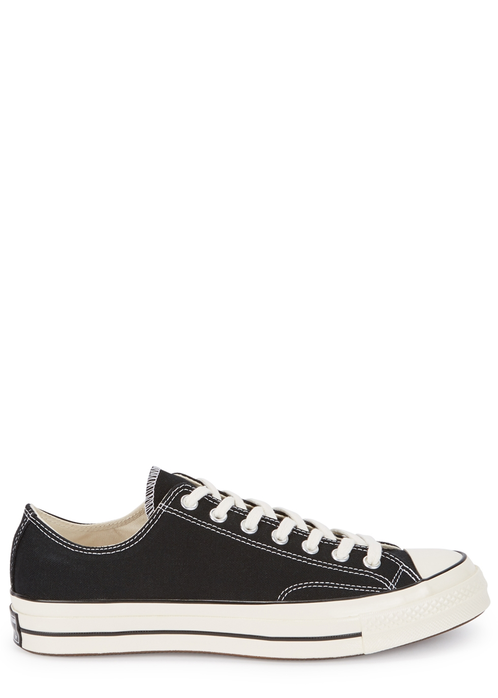 Chuck 70 black canvas sneakers
