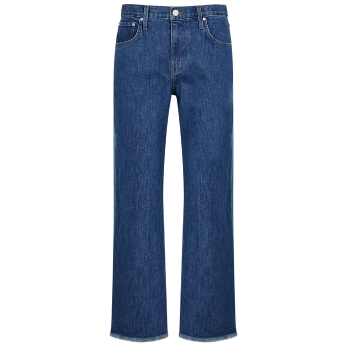 Elizabeth And James ELIZABETH AND JAMES HOLDEN TWO-TONE STRAIGHT-LEG JEANS