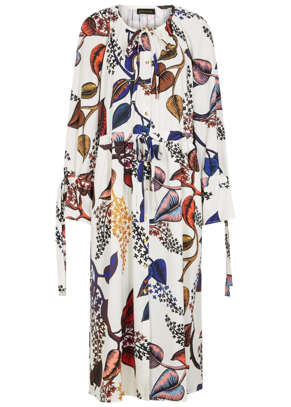 STINE GOYA JACQUES PRINTED SHIRT DRESS