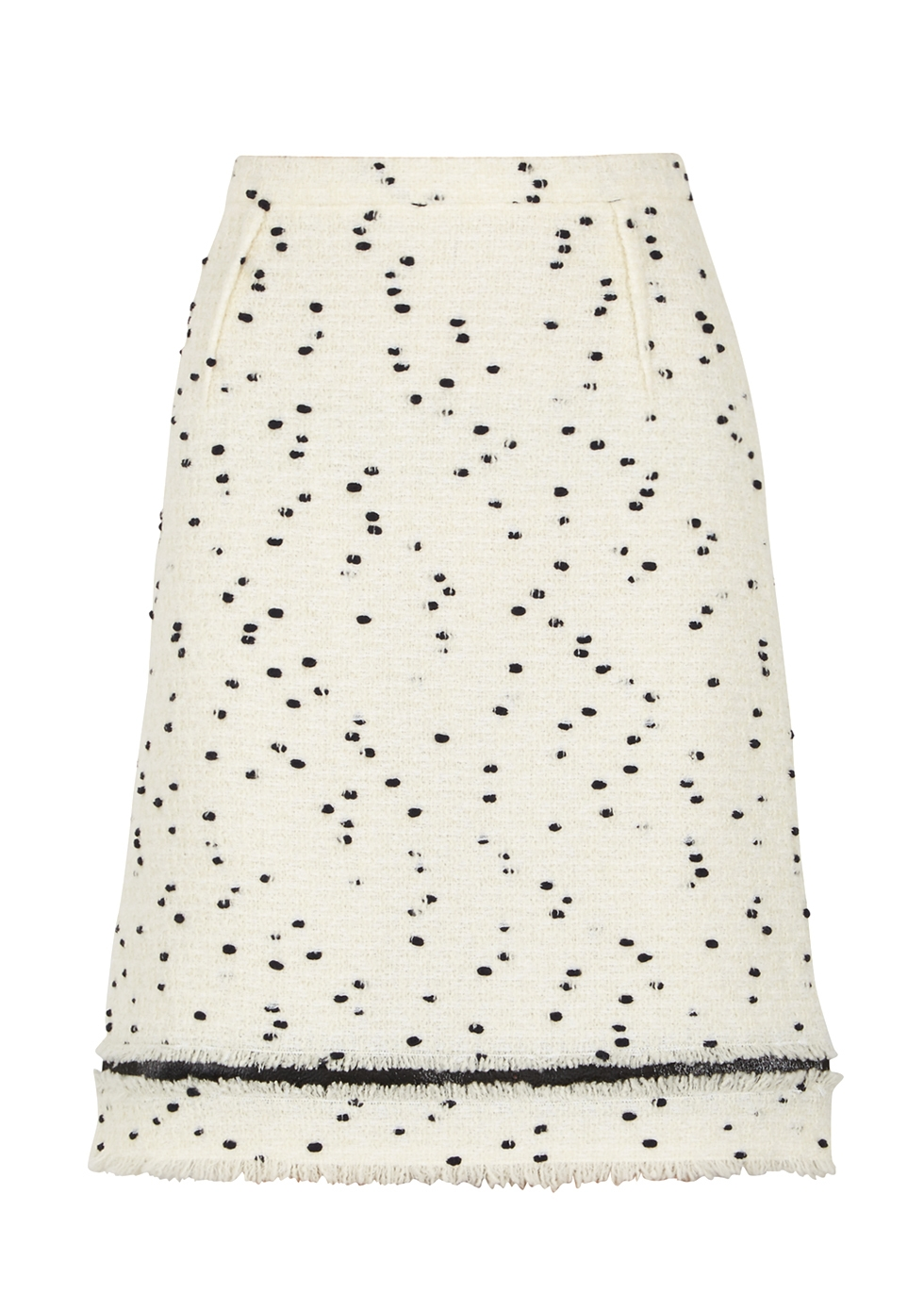 MONOCHROME BOUCLÉ SKIRT