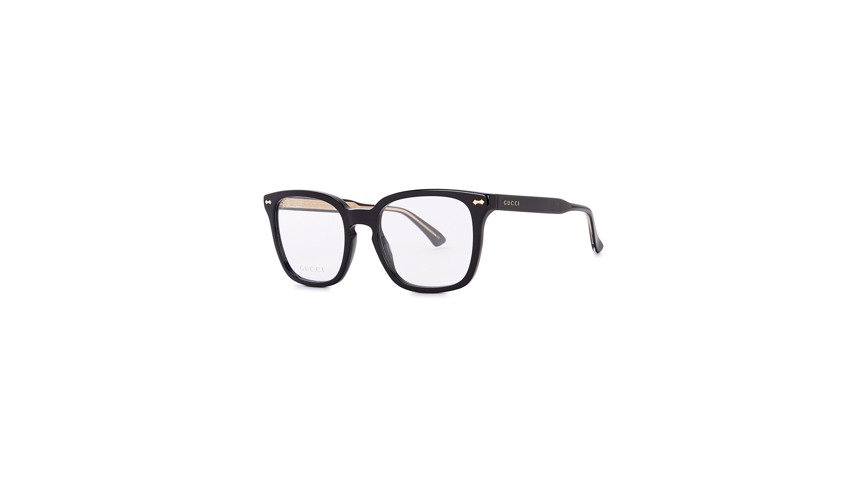 1d6c76397d Gucci Black square-frame optical glasses - Harvey Nichols