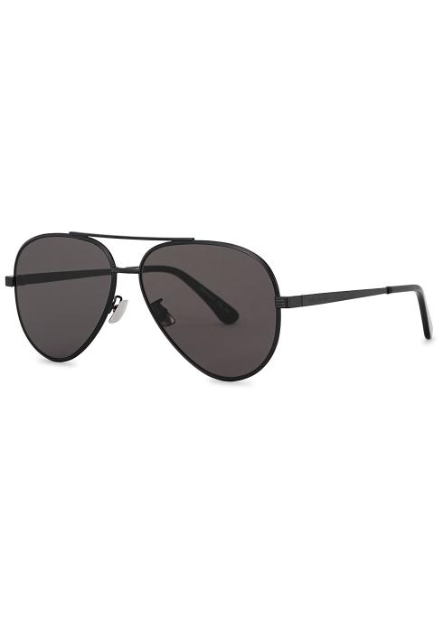 f4043be9ad Saint Laurent Classic 11 Zero aviator-style sunglasses - Harvey Nichols