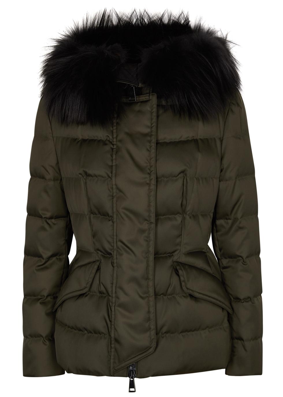 efe0b03d1 Sterne fur-trimmed shell jacket