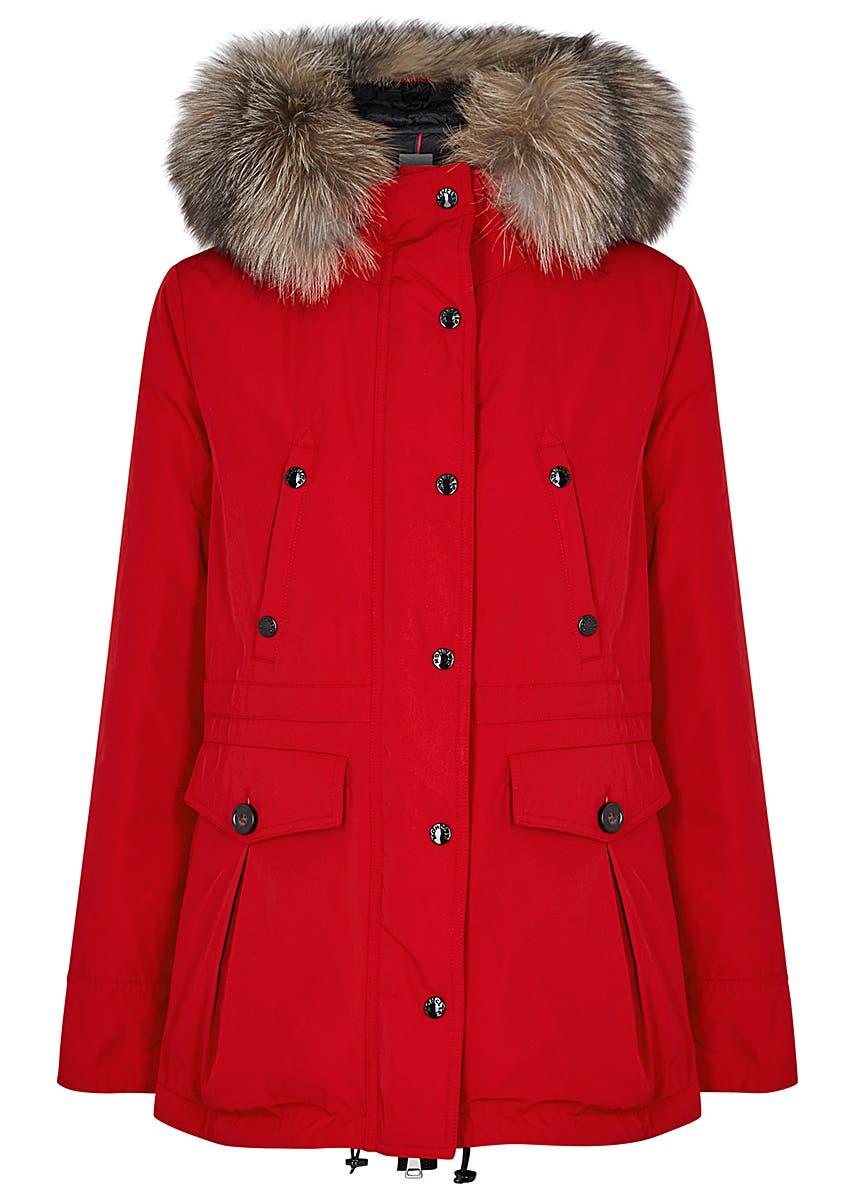 de0494400 Moncler Women's Shearling and Fur Coats - Harvey Nichols