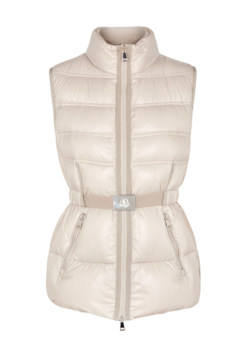 e7f2d673c469 Moncler. Maglia cotton and shell jacket. £680.00 · Aigrette quilted shell  gilet ...