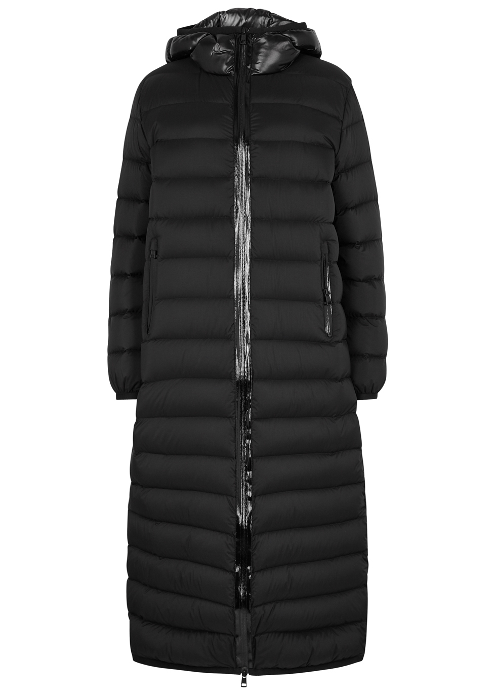 GRUE QUILTED SHELL COAT