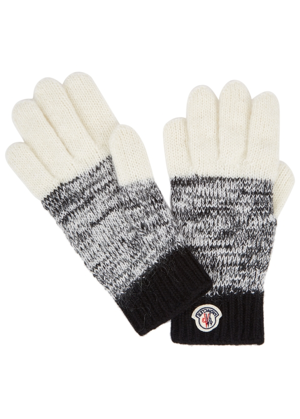 3c509444720f Moncler Knitted Gloves - Womens - Harvey Nichols