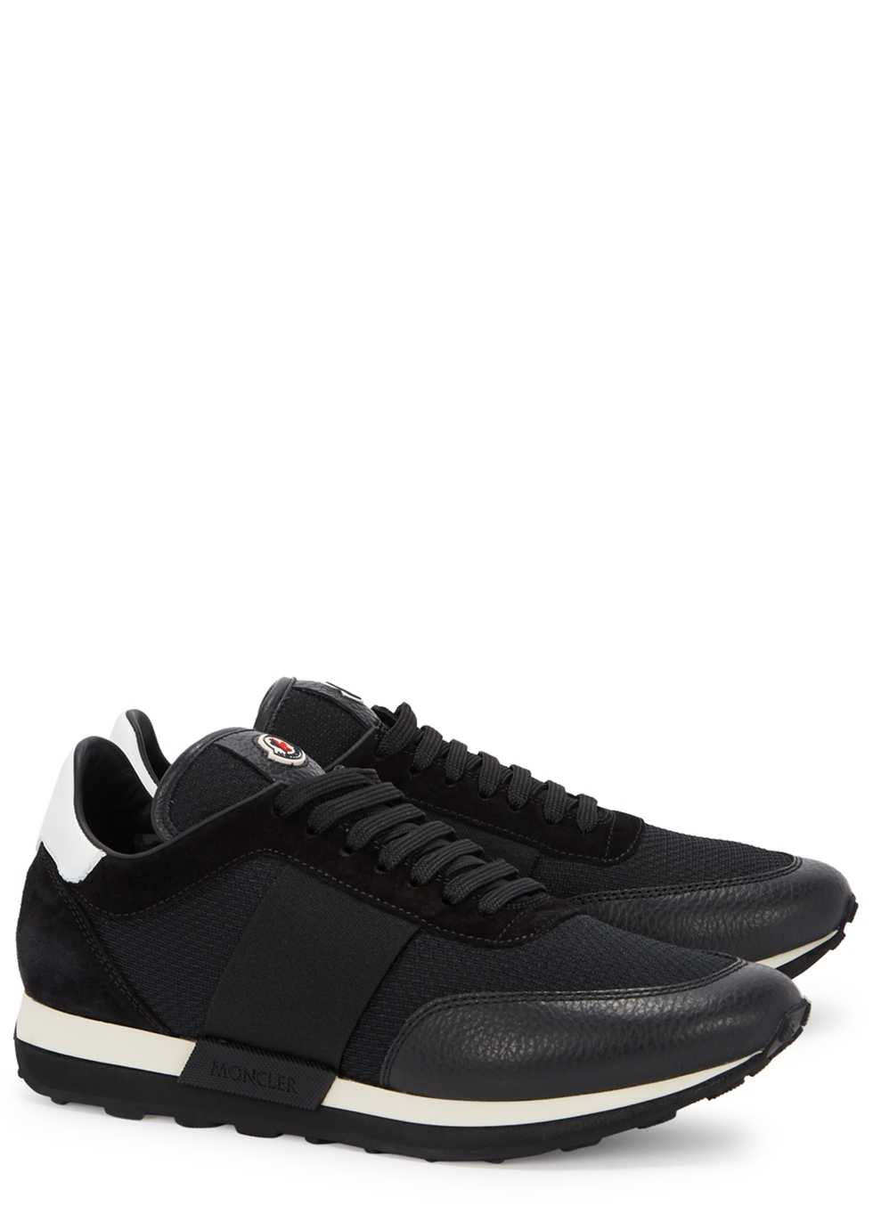LOUISE PANELLED MESH TRAINERS