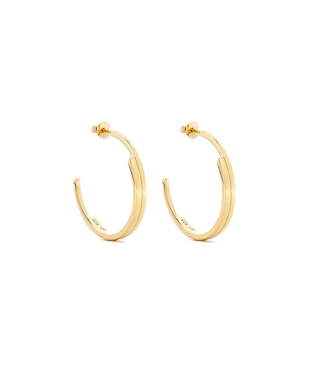 EDGE OF EMBER TIER GOLD HOOPS