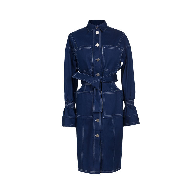 JAMIE WEI HUANG HANNA DENIM DRESS