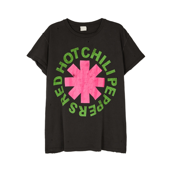 Madeworn RED HOT CHILI PEPPERS COTTON T-SHIRT