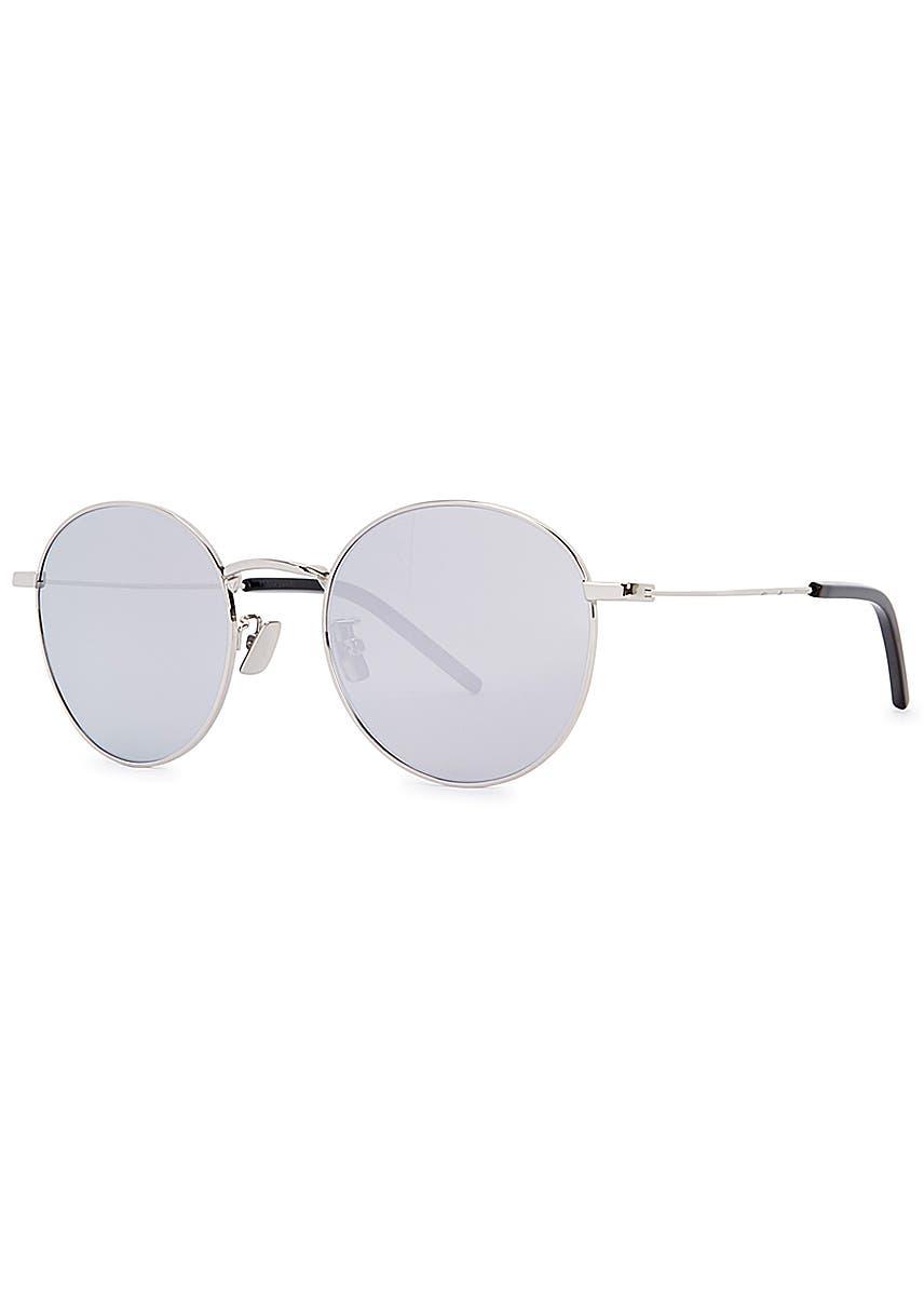 03289c0037da SL250 mirrored round-frame sunglasses
