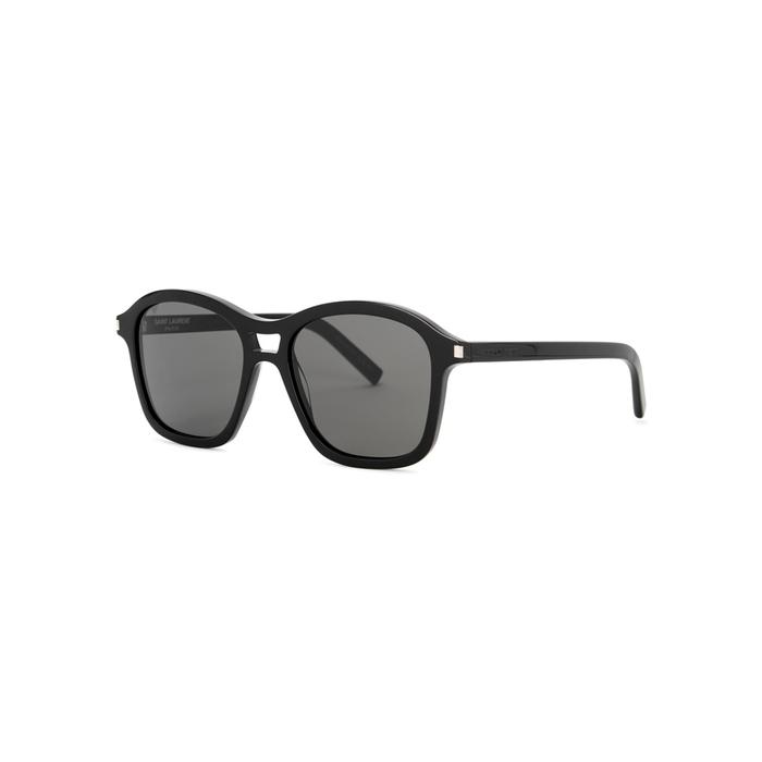 Saint Laurent Black Square-frame Sunglasses