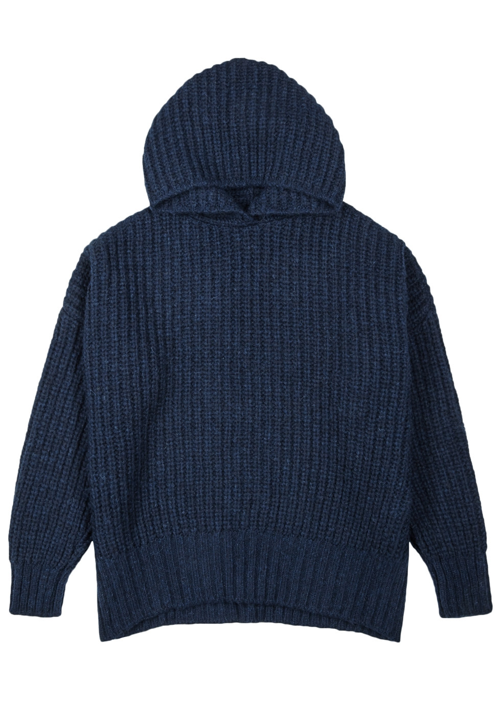 OPPORTUNO Katy Chunky-Knit Alpaca-Blend Jumper in Navy