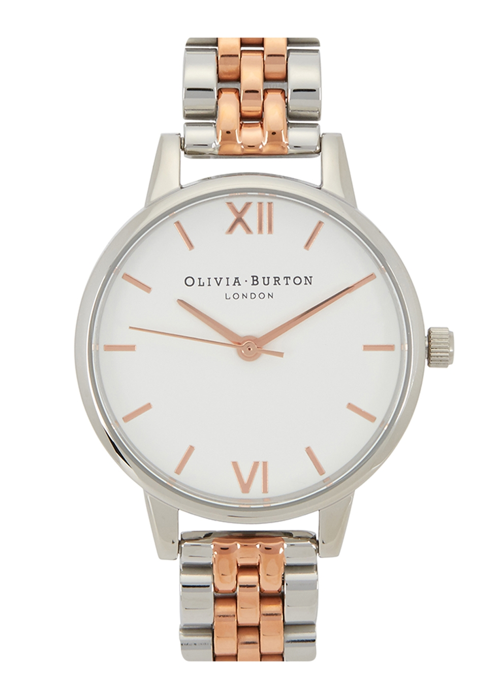 OLIVIA BURTON MIDI DIAL SILVER-PLATED WATCH