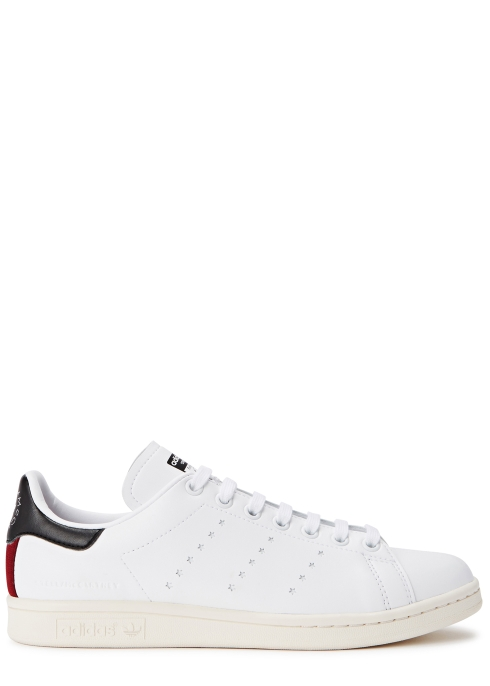 Stella McCartney X adidas Stan Smith faux leather trainers - Harvey ... 2b4f23556