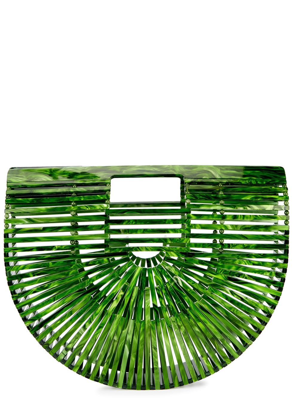 ARK SMALL GREEN CLUTCH
