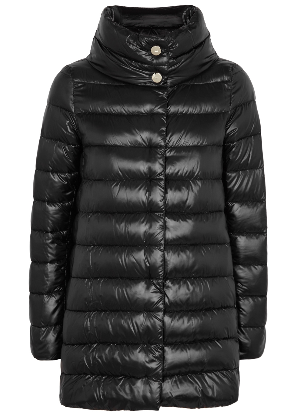 ICONIC AMELIA QUILTED SHELL COAT