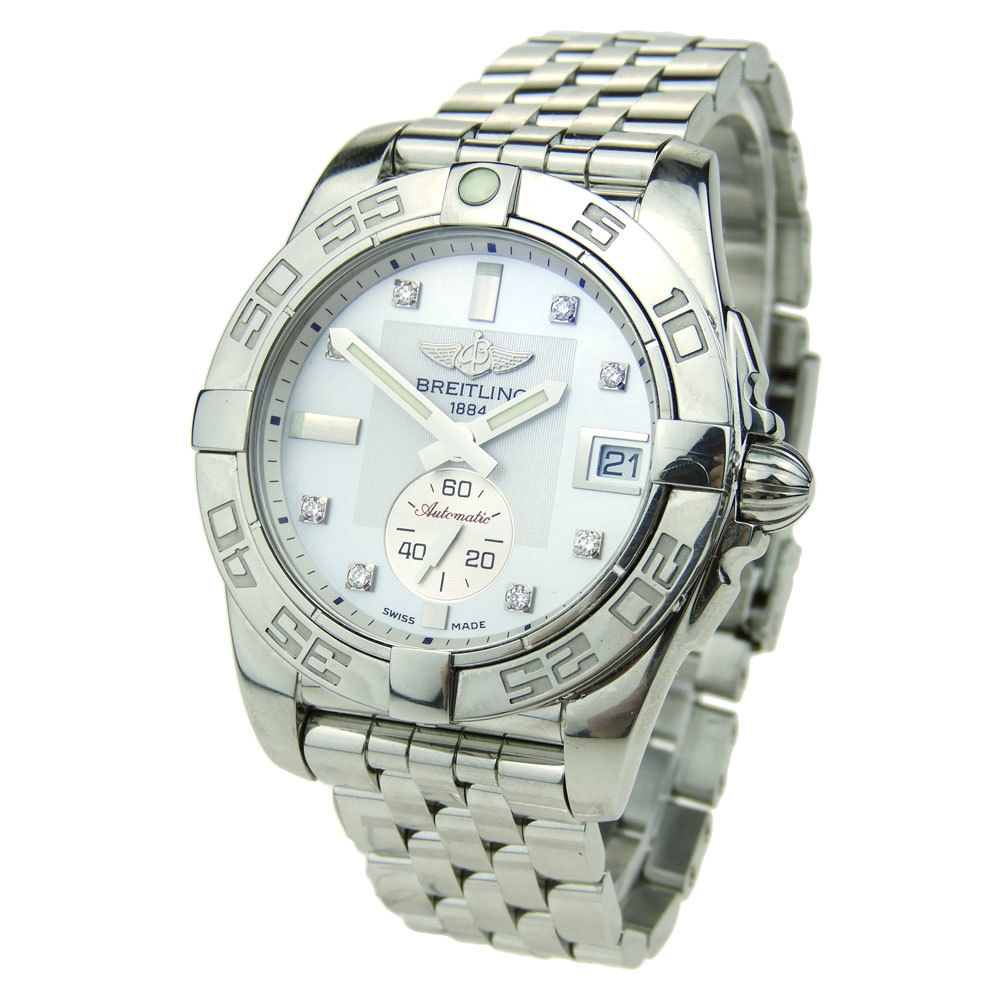 BREITLING GALACTIC 36 STAINLESS STEEL LADIES A3733012