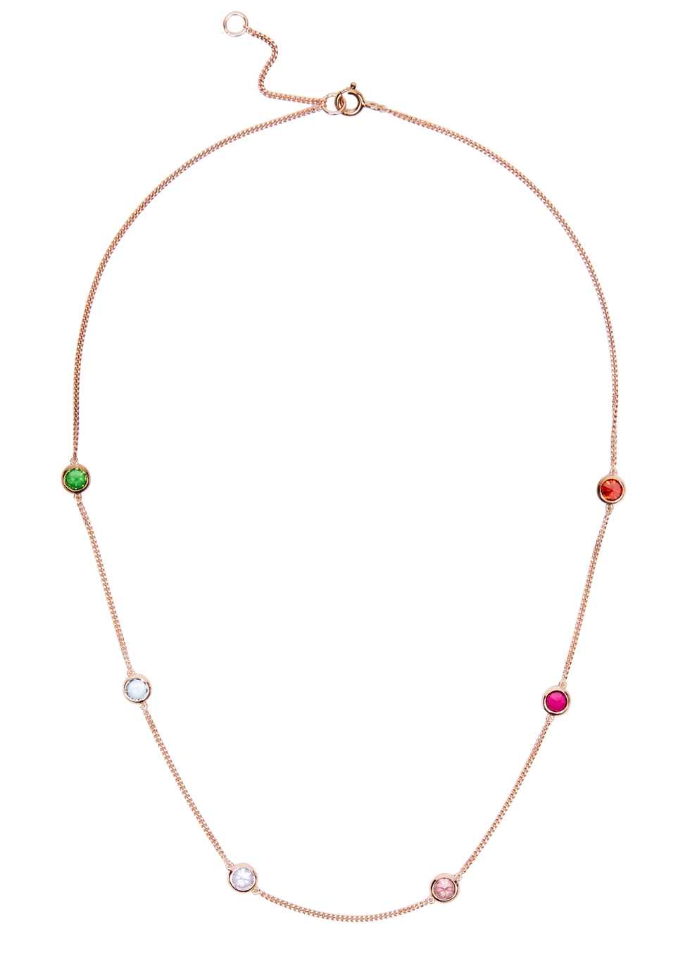 ROSIE FORTESCUE 18Ct Rose Gold-Plated Choker