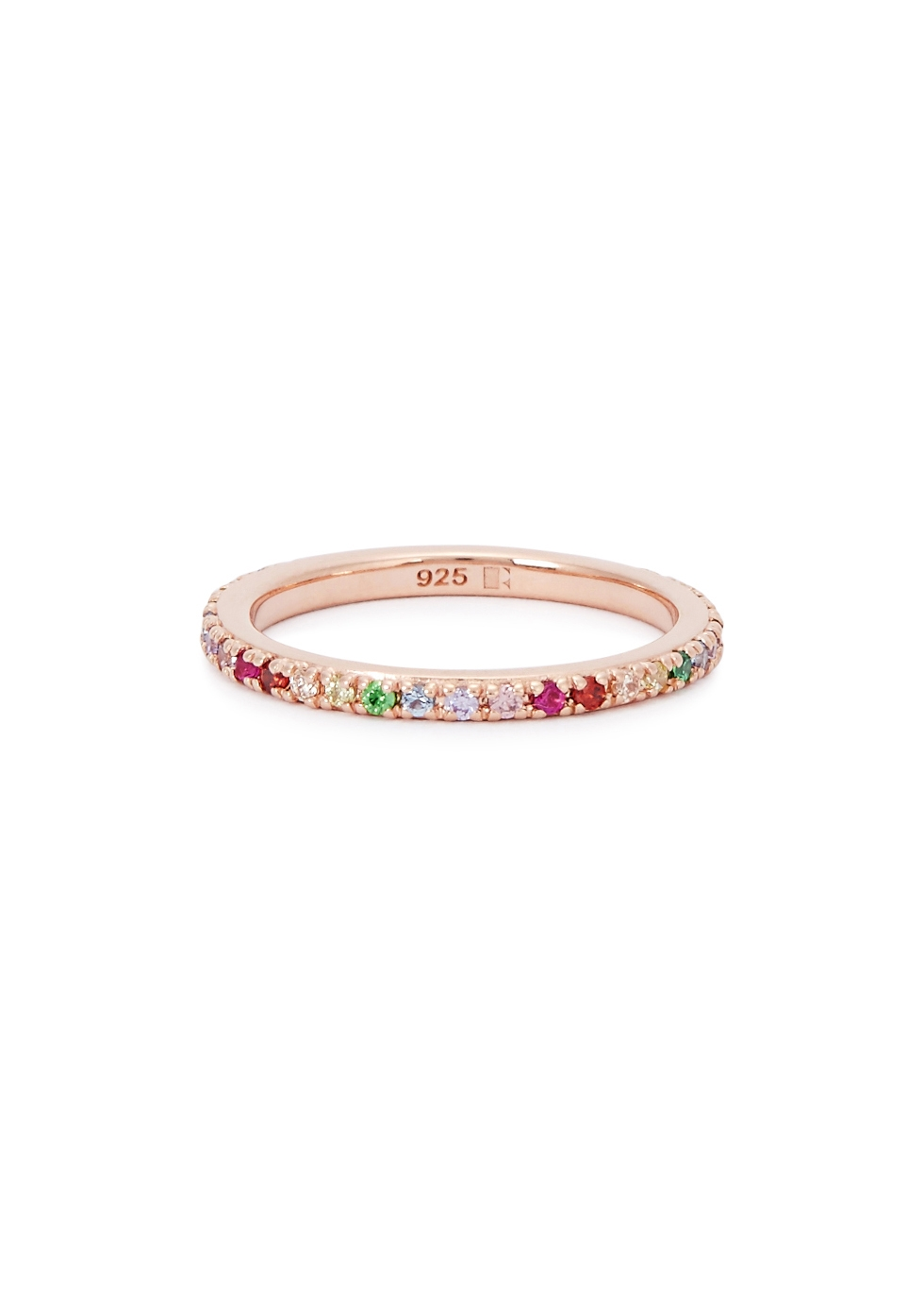 ROSIE FORTESCUE 18Ct Rose Gold-Plated Sterling Silver Ring