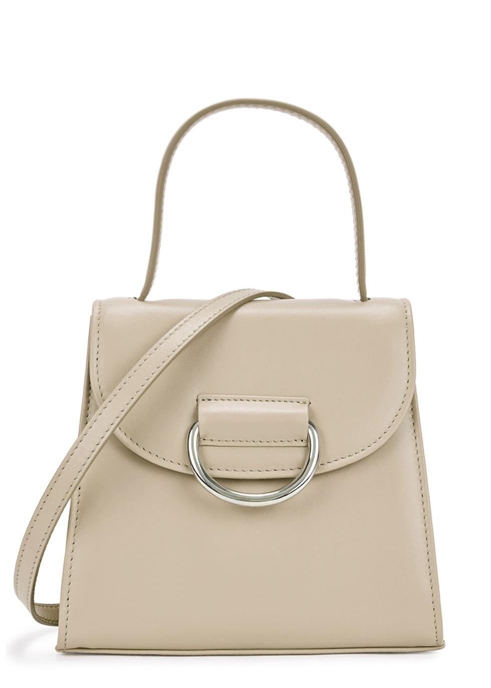 LITTLE LIFFNER Little Lady Leather Cross-Body Bag in White