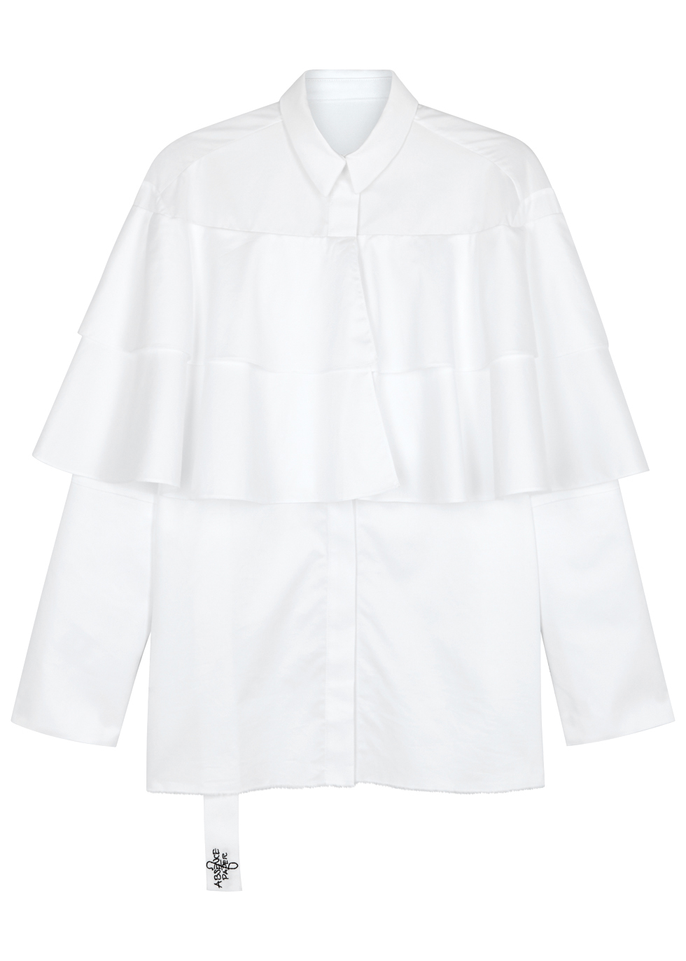 ABSENCE OF PAPER PAGE 5 POPPINS WHITE COTTON SHIRT