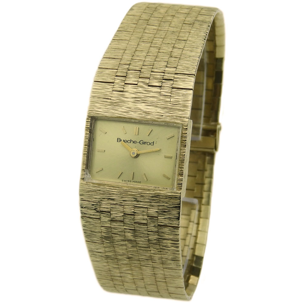 BUECHE GIROD BUECHE-GIROD LADIES 9CT MECHANICAL