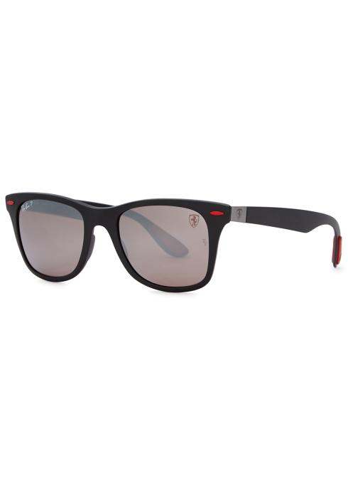 c2a8abc1e16 Ray-Ban X Scuderia Ferrari wayfarer-style sunglasses - Harvey Nichols