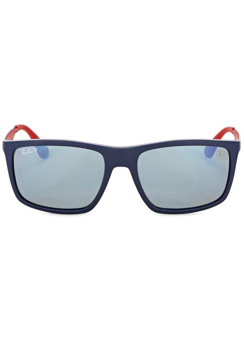 93425d41040 Ray-Ban X Scuderia Ferrari square-frame sunglasses - Harvey Nichols