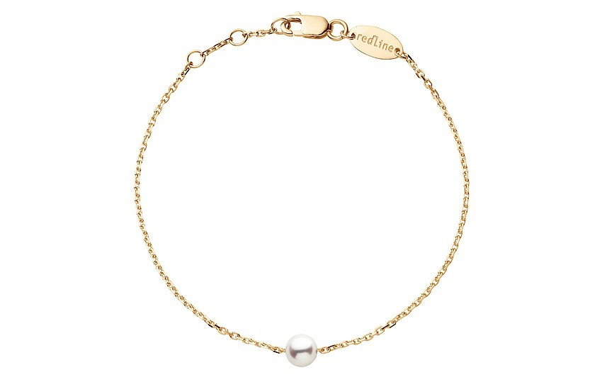 REDLINE 18Ct Yellow Gold Akoya Pearl Sensuelle Bracelet