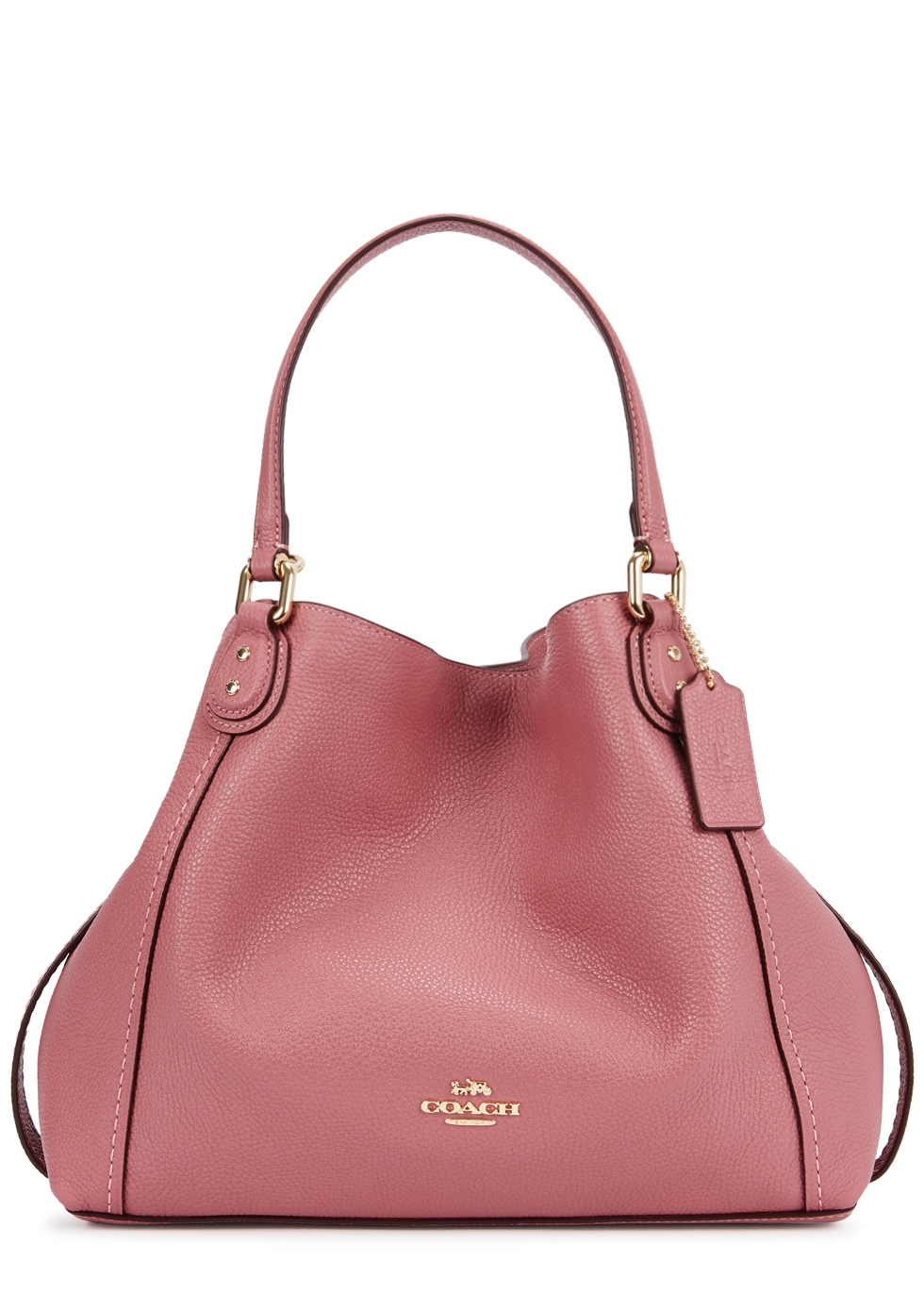 7fe9ce64cb sale coach parker leather shoulder bag 52440 81326  ireland edie 28 pink  leather tote coach c417c e649e