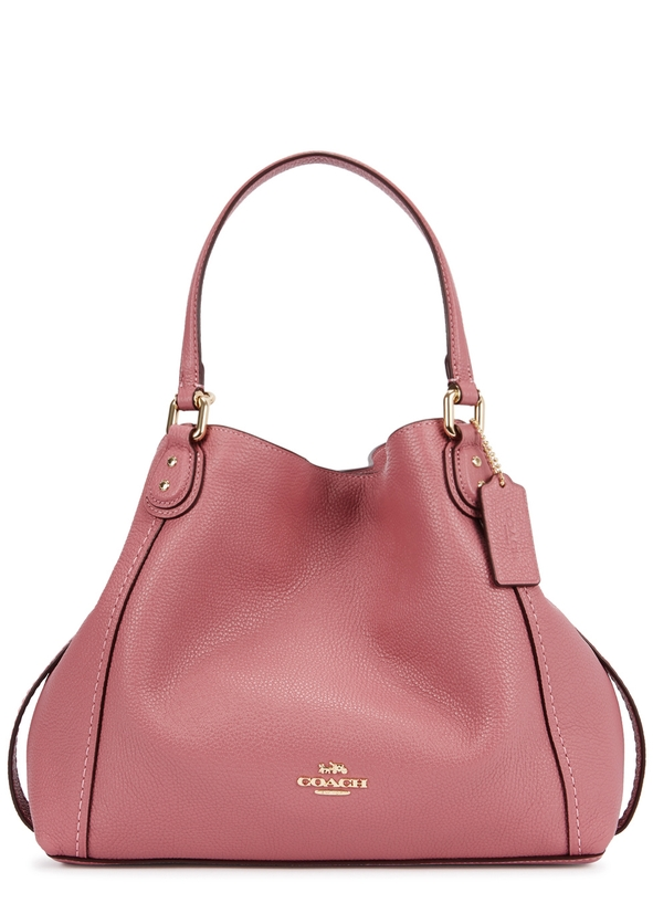 6996fbff06e1 Edie 28 pink leather tote ...