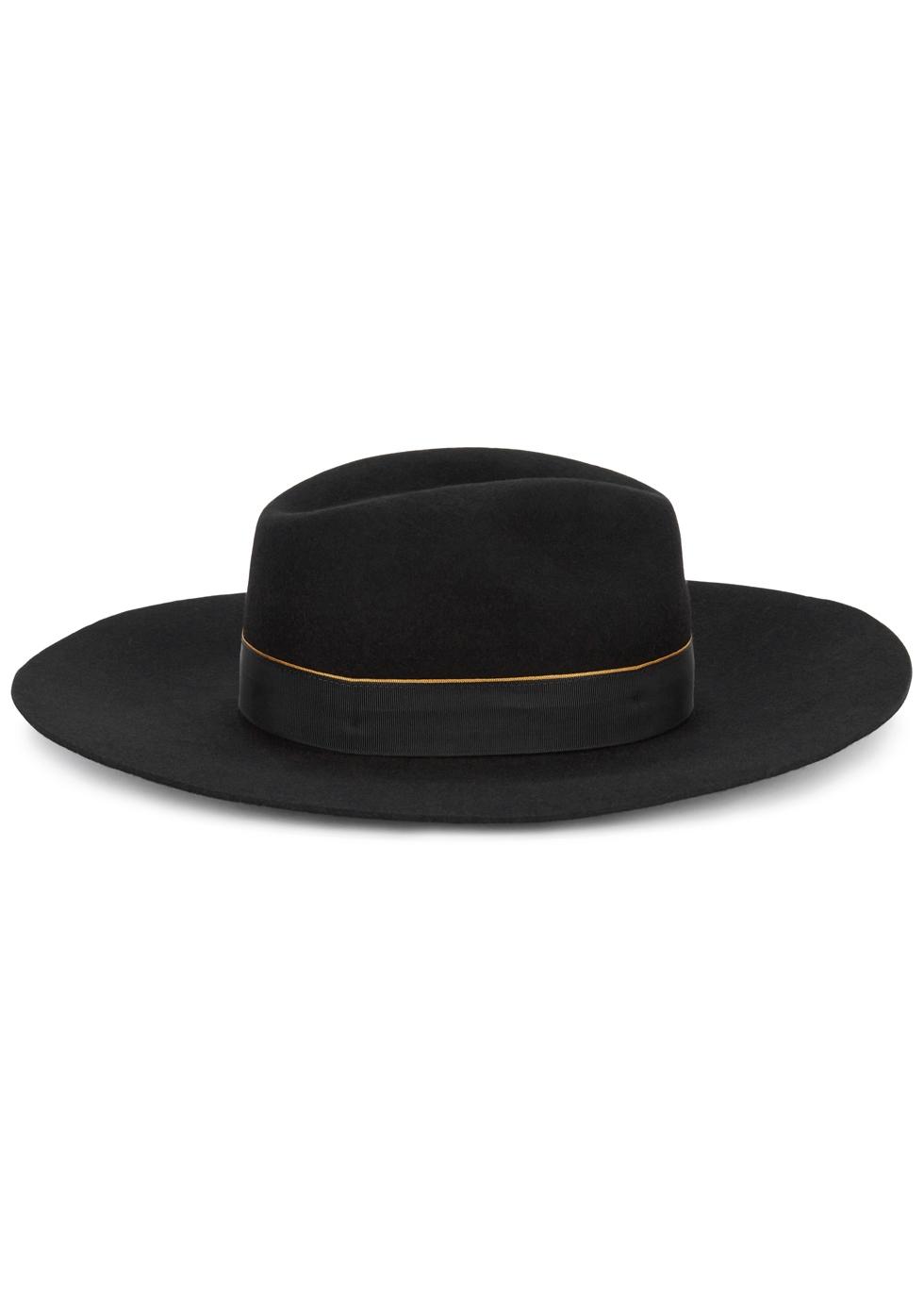 CHRISTYS' HATS Wimslow Black Wool Felt Hat